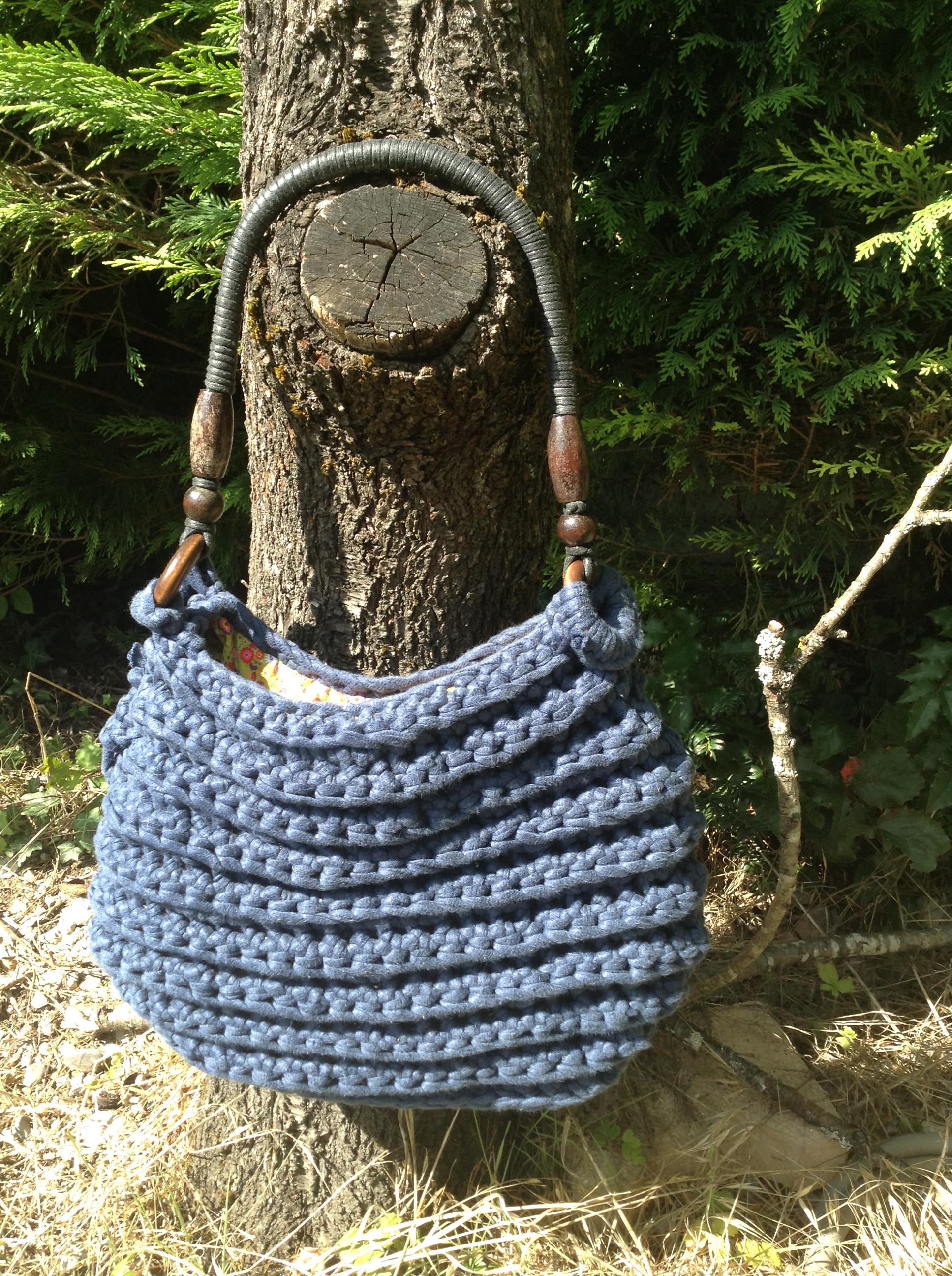 sac au crochet HOOCKED DMC